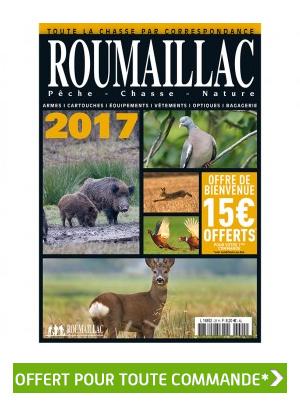 Exceptionnel ! Votre catalogue Roumaillac chasse 2017 offert pour toute commande